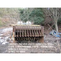 UNUSED KOBELCO VFGH (7' X 18') VIBRATING GRIZZLY FEEDER S/NO. 14-0883