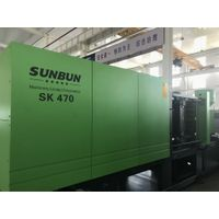 Central locking structure Sunbun 470T plastic 20L bucket making injection molding machine