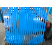 blue painted steel strapping for packing thumbnail image