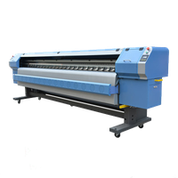 wide format printer pvc printing 3.2m konica 512 flex printing machine