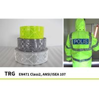 Reflective Prismatic Tape EN471 ISO20471 ANSI107 reflective safety garment workwear