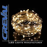 Mini copper wire waterproof christmas LED string light thumbnail image
