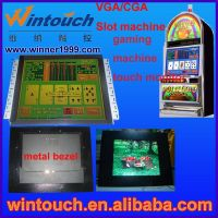 19'' touch screen lcd monitor CGA/VGA Gaming