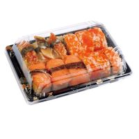 Disposable Sushi Tray with Lid Food contianer thumbnail image
