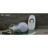 9w rf remote control RGB led light bulb color changing and dimmable wifi link up led light with CE R