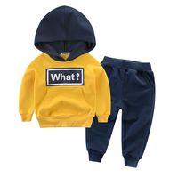 Fashion winter kids sports wear children's suit boys clothing sets thumbnail image