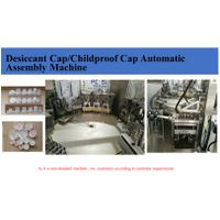 Child Resistant Closure Caps Desiccant Insert And Lining Assembly Machine thumbnail image