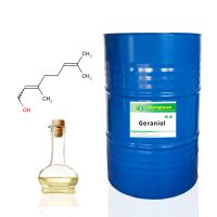 Super high quality Synthetic Geraniol (2E)-3,7-Dimethyl-2,6-octadien-1-ol CAS#106-24-1