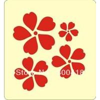 Flower Wooden die for scrapbooking, fit sizzix bigshot machine