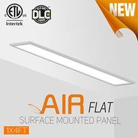 1x4ft surface mounted panel light