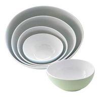 100% Melamine Dinnerware: Egg Shape Bowl Set