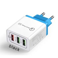 EU universal plug 18W USB Quick Charge 3.0 charger mobile phone fast charger thumbnail image