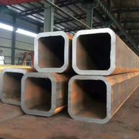 Cold drawn seamless square steel tube or hollow section thumbnail image