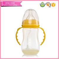 Novel design pp baby feeding bottle high grade anti-flatulence factorye apply