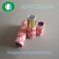 Cardboard Empty Paper Lipstick Tube Packaging with Colorful Printing thumbnail image