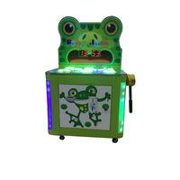 Coin Operated Machine Frog Jump Kids Hammer Game Tickets Redemption