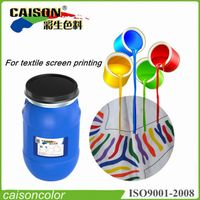 Yellow pigment dispersion for printing