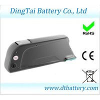 Down tube 48V 11.6Ah Lithium ion Samsung INR1865029E e-bike battery pack with BMS, with USB 5V outpu