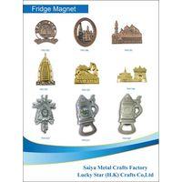 2015 The lastest design souvenirs fridge magnet