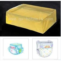 Hot melt elastic adhesive glue for diaper