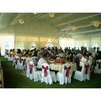 luxury outdoor wedding tent in numerous sizes
