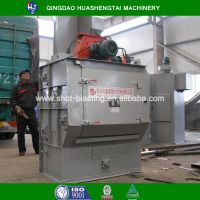 HQ32 series rubber belt type shot blasting machine