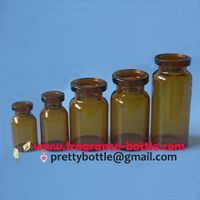 Glass bottles amber color for injectable products thumbnail image