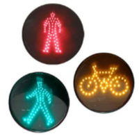 pedestrian signal light modules