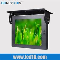 22 inch LCD bus ad player, bus advertising display