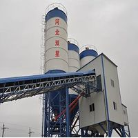 HZS60concrete batching plant