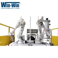 Robotic Water Jet Cutting Cell