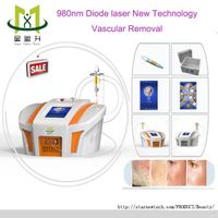 980nm laser diode vascular/spider veins removal machine