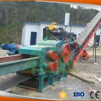 Large capacity industrial drum wood chipper shredder for sale