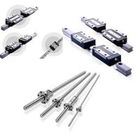 Linear motion & Automation Technology:linear rails +linear bearing + Ball & steel rod SFU1605-4/ HSR