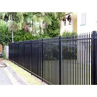 garrison fence, painted garrison fence, high quality garrison fence