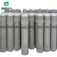 99.9% Hydrogen chloride ( HCL ) gas buy from China good quality thumbnail image
