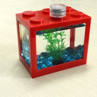 Acrylic Mini Fish Tank for Home and Office Aquarium FishTank Brand New Aquariums