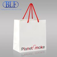 Small colored paper bags with handles (BLF-PB028)