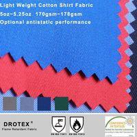BTTG Certificate Flame Retardant Cotton Fabric