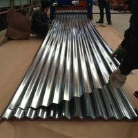 18/20 gauge corrugated steel roofing sheet