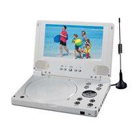7'' Portable DVD With Divx + DVB-T + USB (PDVD-700)