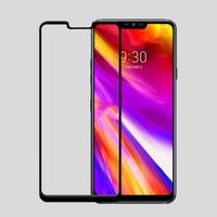 LG G7 full cover tempered glass screen protector