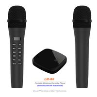 Portable Wireless Karaoke playing Box with Microphone