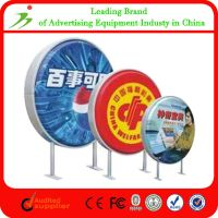 Outdoor Advertising Led Round Acrylic Light Box