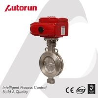 SUS ELECTRIC ACTUATED WAFER BUTTERFLY VALVE
