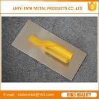 plastering trowel with stainless steel blade