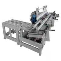High speed process with water edge tilt cutting curbstone edge moulding machine