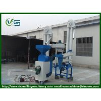 Combined rice mill machine, rice husker and rice peeler machine