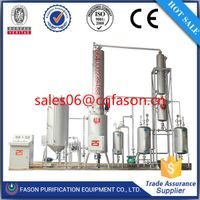 Used lubricant oil to new diesel or base oil recycling machine