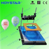 desktop balloon manual silk screen printing machine